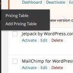 How To Add Pricing Tables To WordPress Website